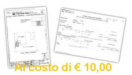 Visura catastale e planimetria catastale a Palermo